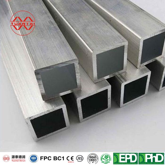 ODM Hot galvanized rectangular tube-1