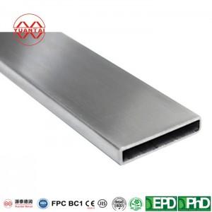 ODM Hot galvanized rectangular tube