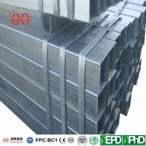 pre galvanized hollow steel pipe