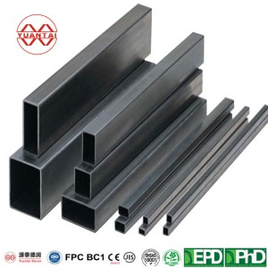 Rectangular tubes for mechanical structures