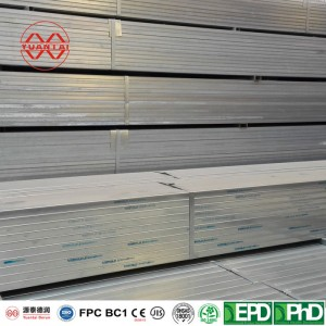 SCH5S hot dipped galvanized square steel pipes
