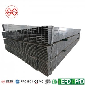150×150 gi steel square pipe with high quality