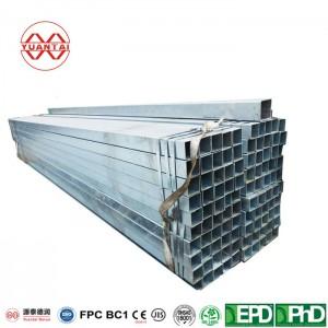 A500 200×200 mm galvanized square steel pipe