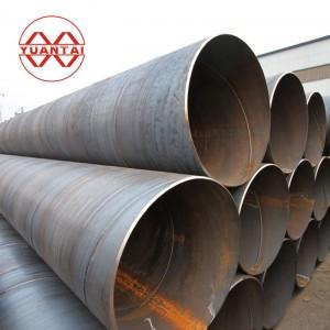 Welded steel pipe