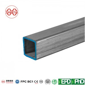 Hot Dipped Galvanized Cold Formed Square Tube