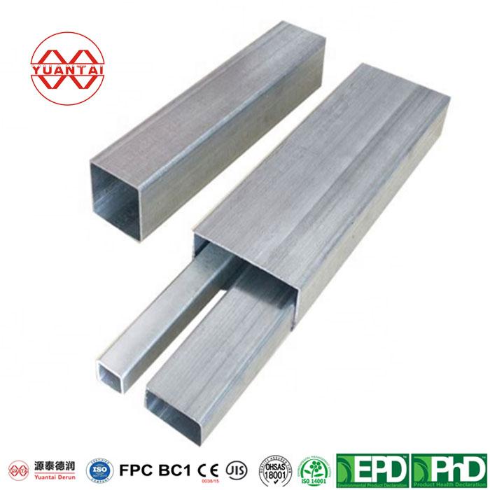 Mild Galvanized Steel Square Tube Price Per Kg-5