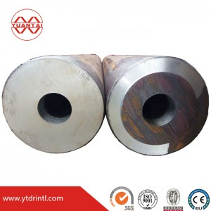 Stock ST52 hollow bar with high wall thickness seamless steel pipe
