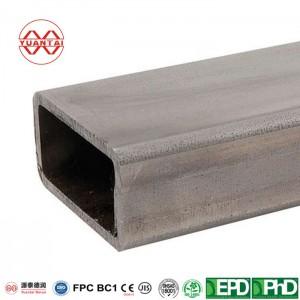 Unpolished (Mill) Steel Rectangular Tube manufacturer