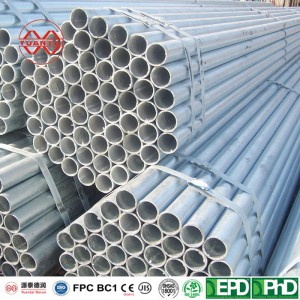 astm-a53-hot-dipped-galvanized-steel-round-pipe