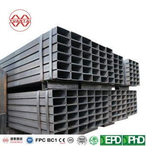 ASTM A500 welded square/rectangular steel pipe price alibaba
