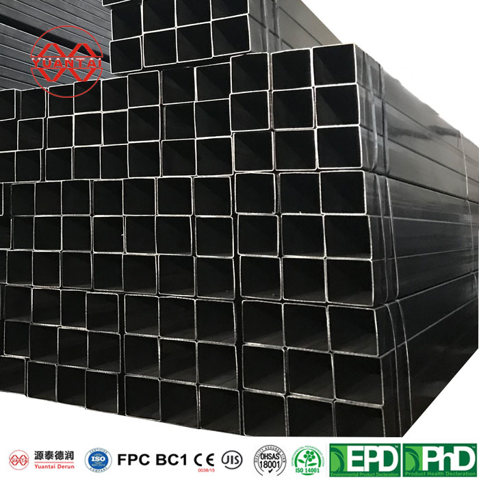 Raw material q235 welded mild square steel pipe-3