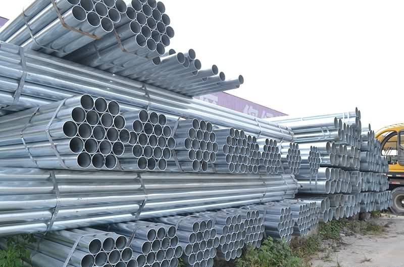 Short Lead Time for Galvanized pipe for Pakistan Importers detail pictures