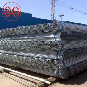 Hot dip galvanized steel pipe 3-12M