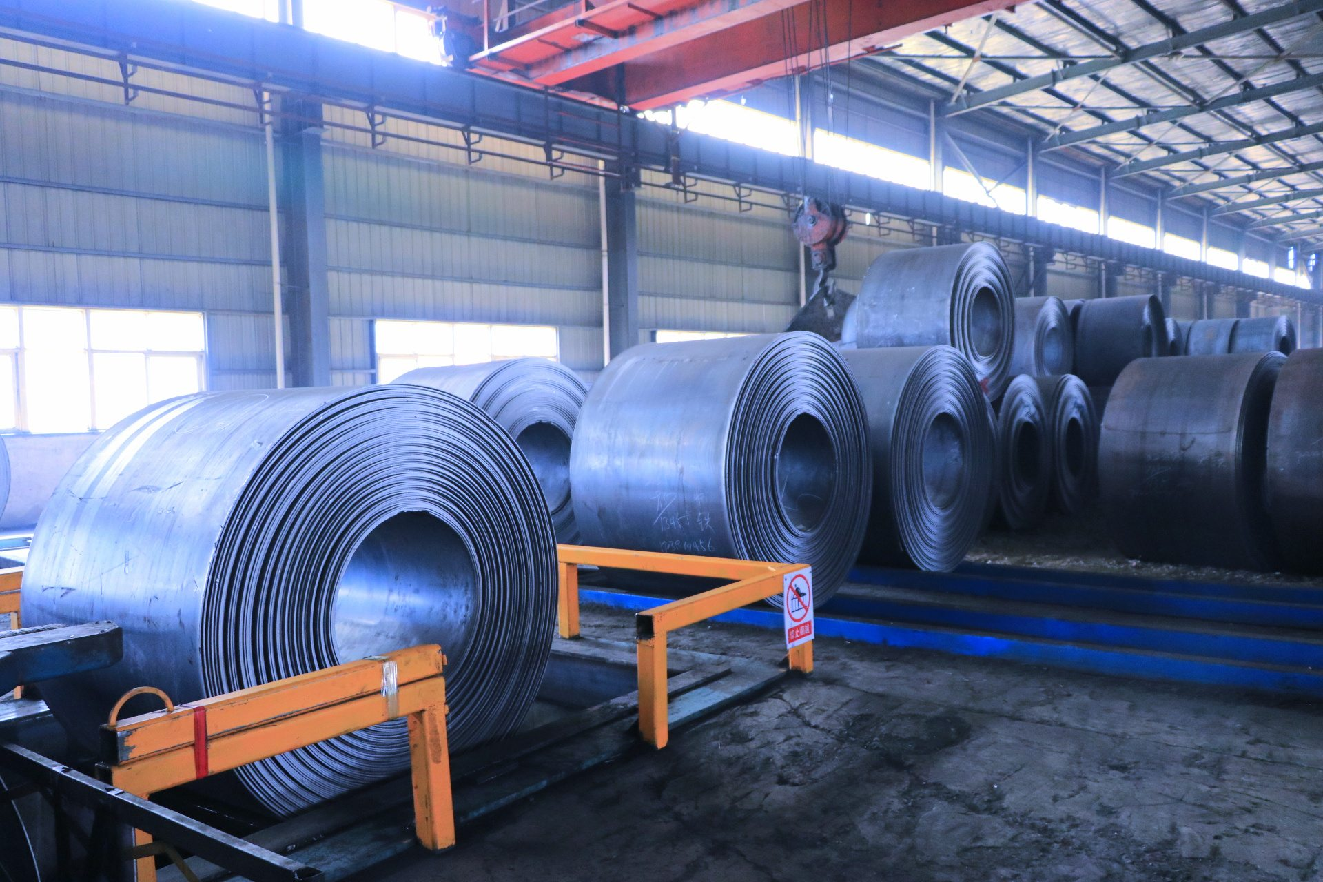 Renewable Design for Steel strip Supply to Sweden