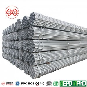 galvanized iron hollow sections YuantaiDerun