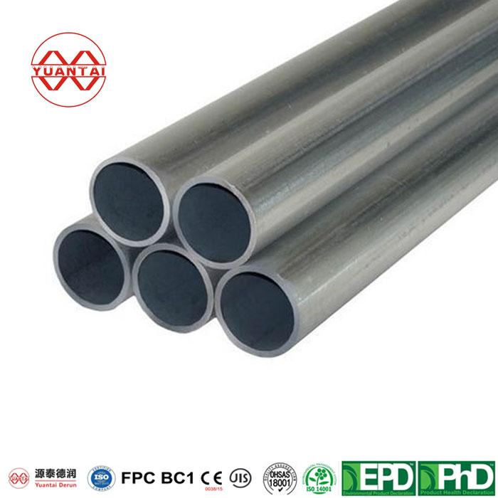galvanized iron hollow pipes YuantaiDerun-2
