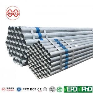 galvanized iron pipe YuantaiDerun