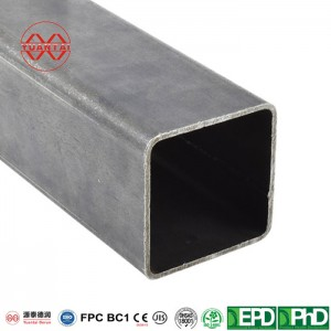 SCH120 hot dipped galvanized square steel pipes