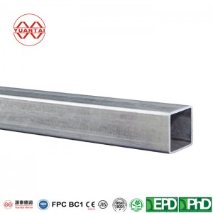 Galvanized square steel tube 100mm*100mm