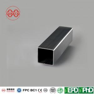 3/4″ x 3/4″ x .049 Galvanized Square Tube