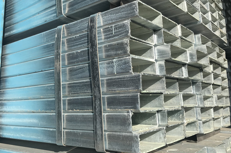 Hot Dipped galvanized square pipe detail pictures