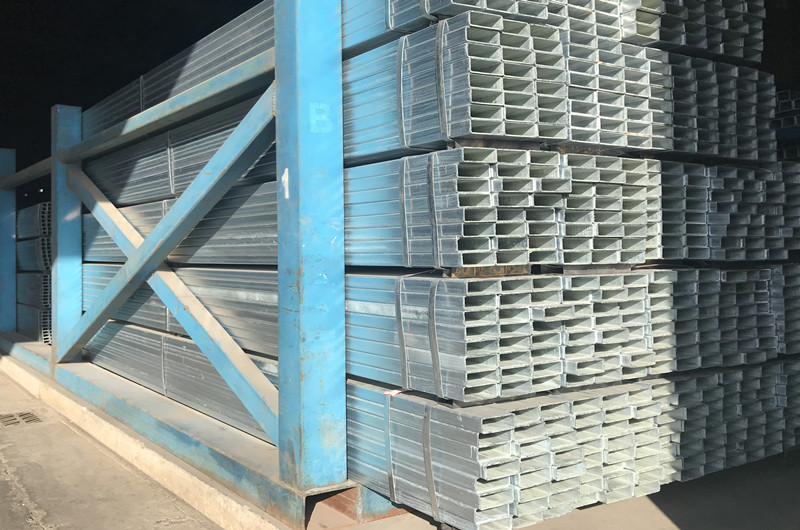 Hot galvanized square tube detail pictures
