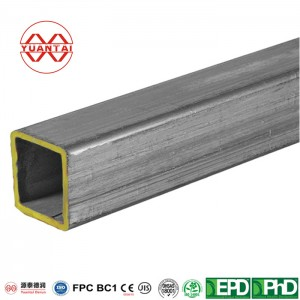 BS1387 ERW CONSTRUCTION GALVANIZED RECTANGULAR STEEL PIPE