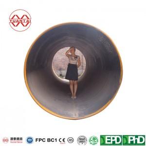 spiral welded steel pipe YuantaiDerun