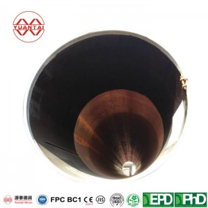 lsaw welded steel pipe for gas and oil line