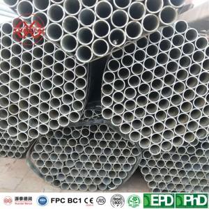 manufacturer ODM Hot galvanized round pipe