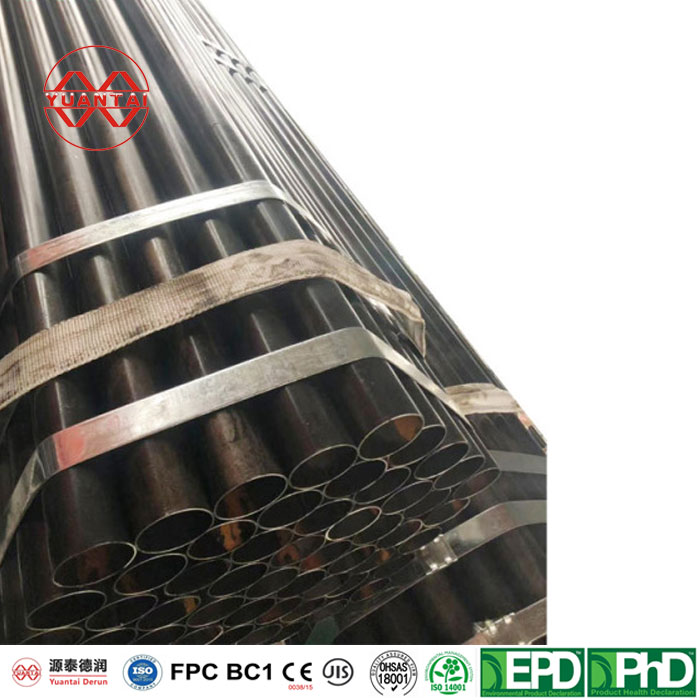 erw carbon steel pipe sch 40 for oli and gas from Tianjin factory-5