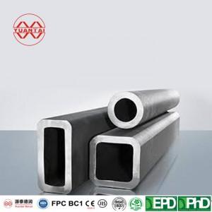seamless rectangular round tube YuantaiDerun brand