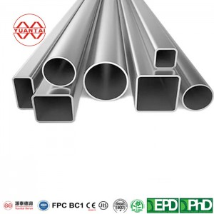 seamless square tube factory