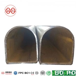 Trapezoidal steel pipe YuantaiDerun