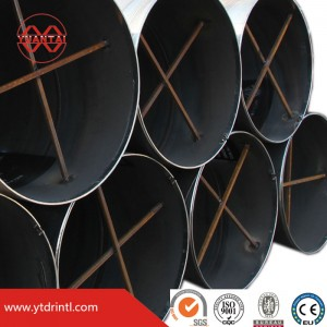 Spiral pipe factory